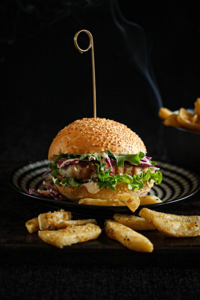 Fillet Fish Burger