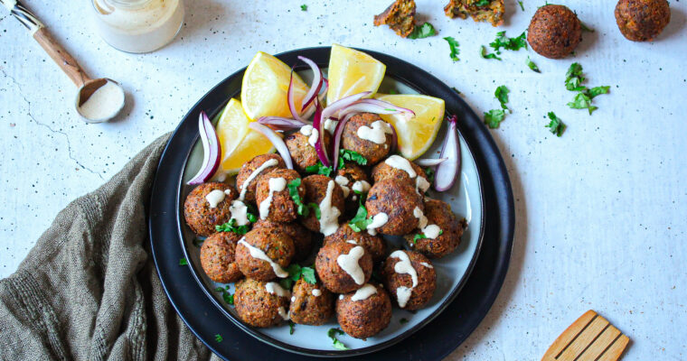 The Best Broccoli and Chickpea Falafel Recipe