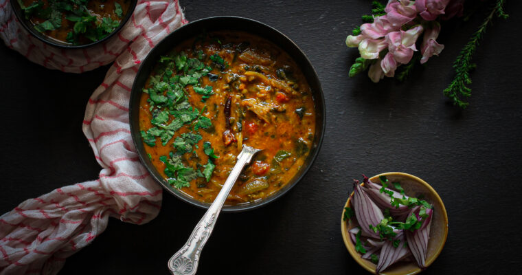 Spinach and Dhal Makhani – Good old Indian comfort food
